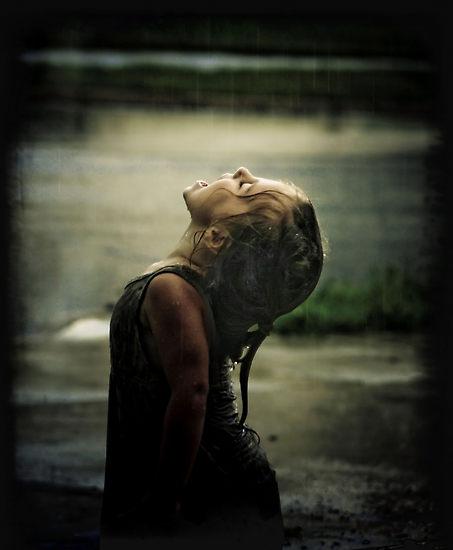 Fierce rain